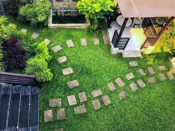 Landscaping Ideas Stepping Stones For Backyards