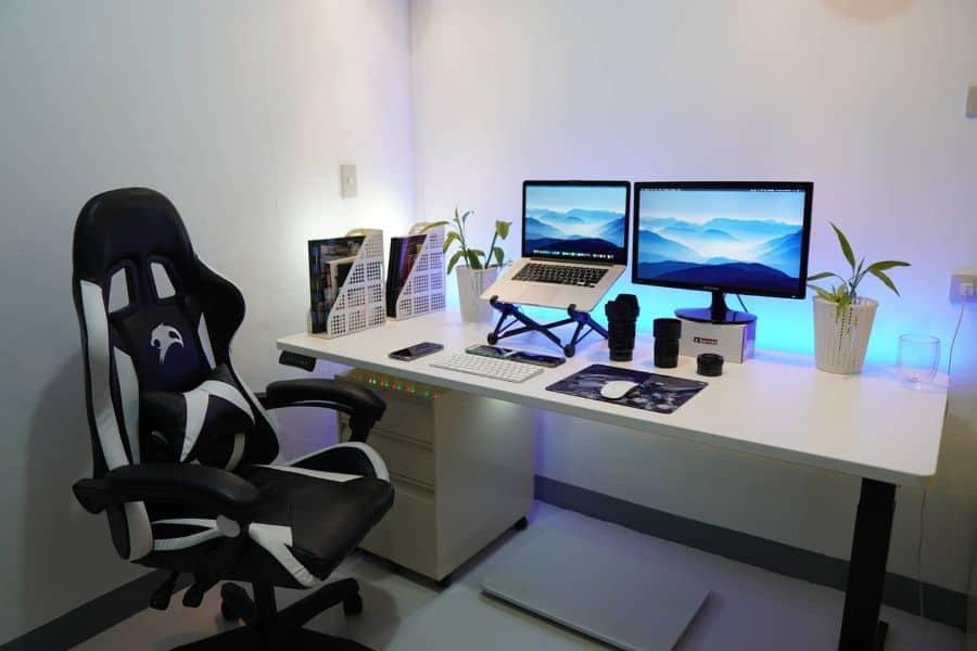 laptop desk setup ideas jem_lachica