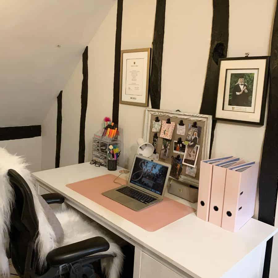 laptop desk setup ideas tamsinslawlife