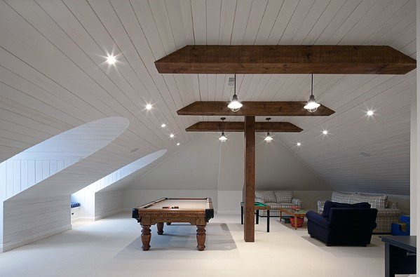 Large Attic Home Bonus Room Ideas