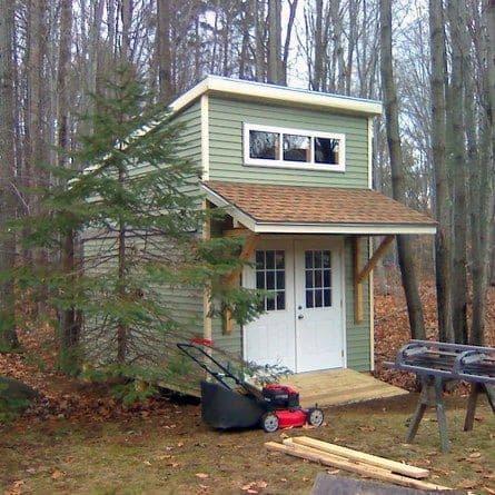 Large Backyard Shed Exterior Ideas