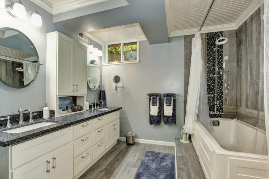 Large Basement Bathroom