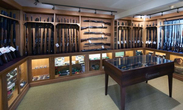 Top 100 best gun room designs armories you ll want to for Custom safe rooms