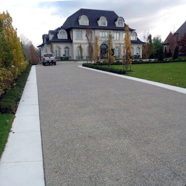 Large Concrete Driveway Spectacular Ideas