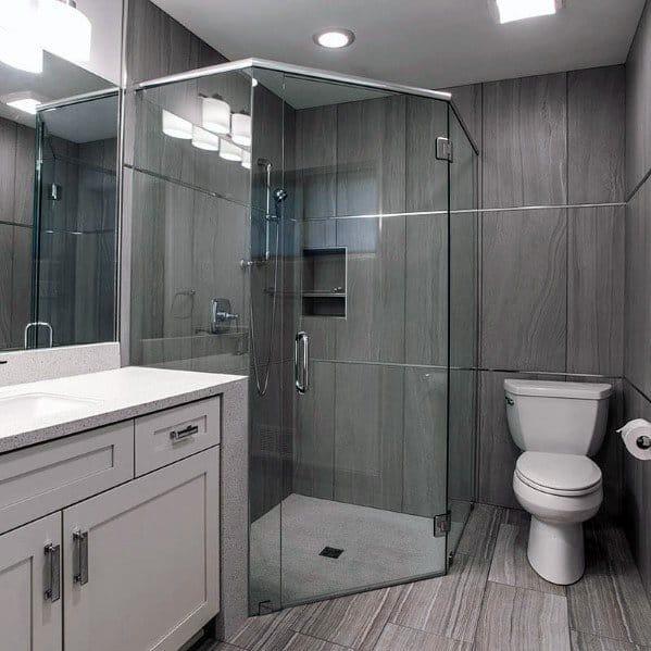 Large Corner Shower Home Designs