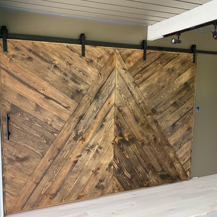 Large Door Rustic Barn Door