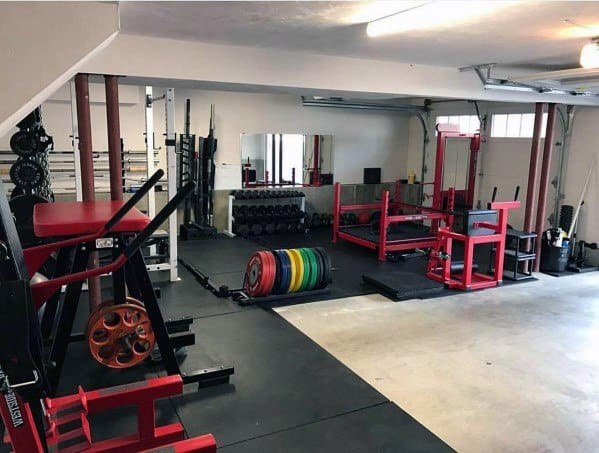 Large Garage Gym Ideas
