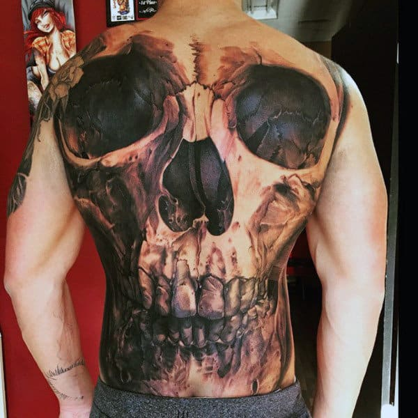 0bfa46e1b 120 Full Back Tattoos For Men - Masculine Ink Designs