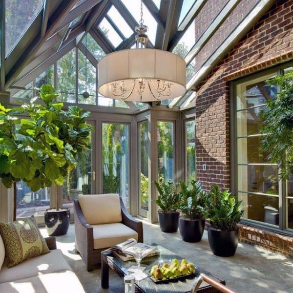 Large Home Sunroom Ideas