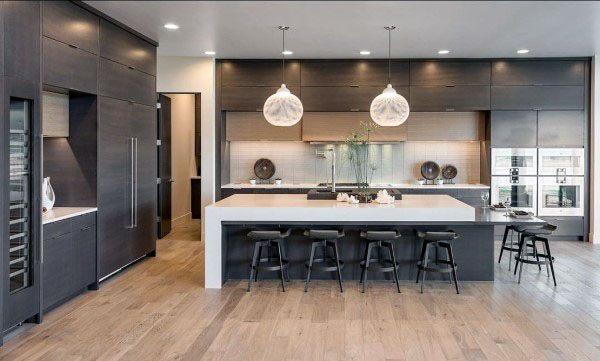 Large Kitchen Cabinet Design Ideas