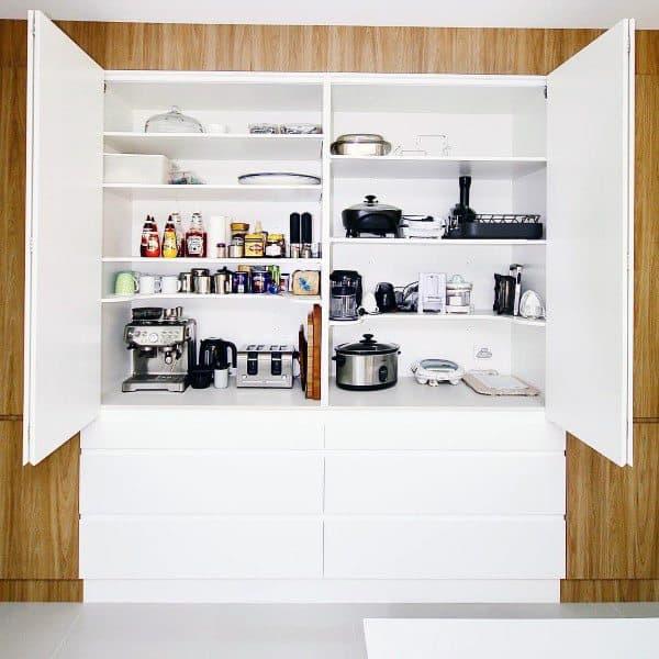 Large Kitchen Pantry Ideas