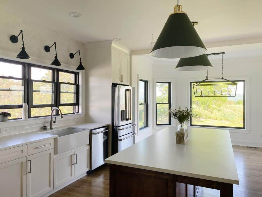 Large Kitchen Window Modern Farmhouse Kitchen Mywesttownlife