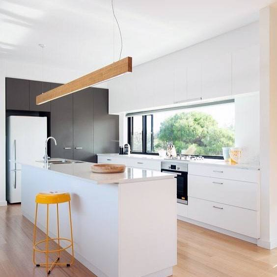 Top 50 Best Kitchen Island Lighting Ideas Interior Light Fixtures - Kitchen-design-lighting-interior