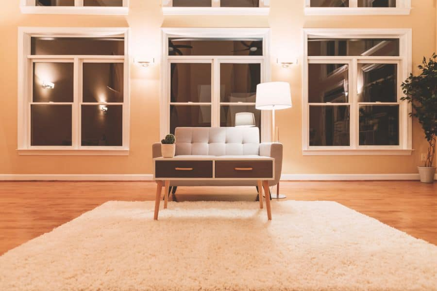 Large Luxury Interior Home Mid Century Modern Living Room 5