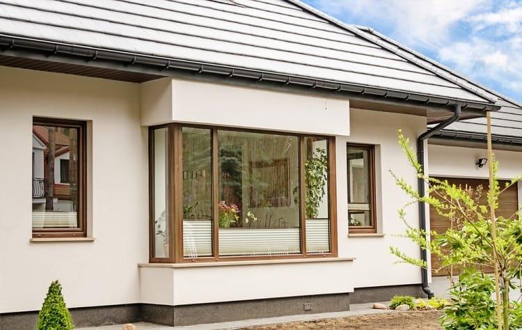 Large Modern Exterior Window Trim