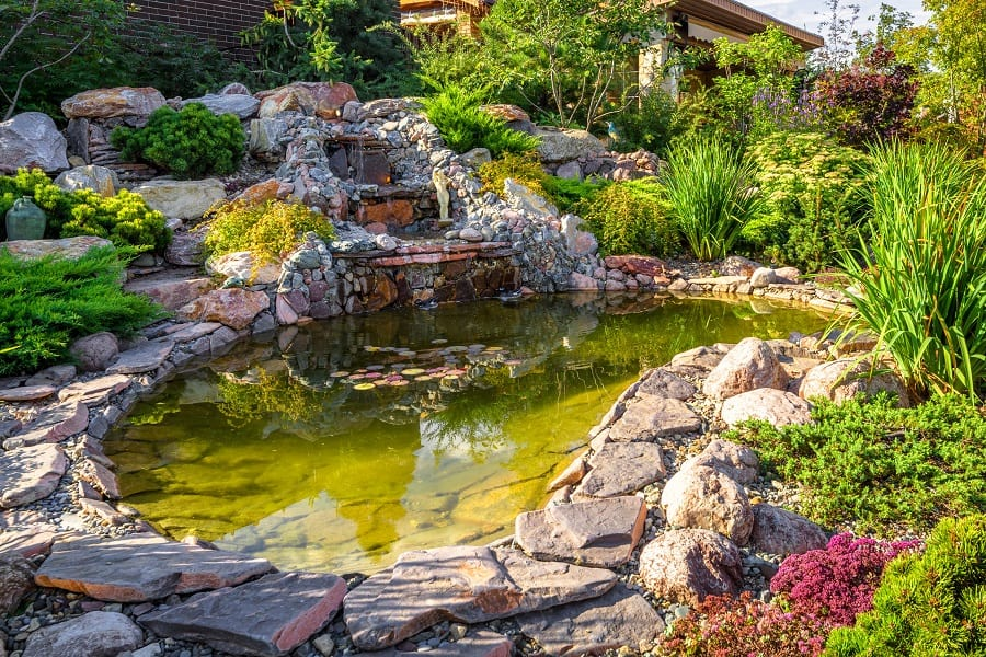Stepping Stone Walkway Ideas For Rock Landscaping