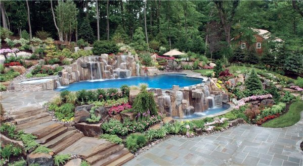 Large Pool Landscaping Ideas