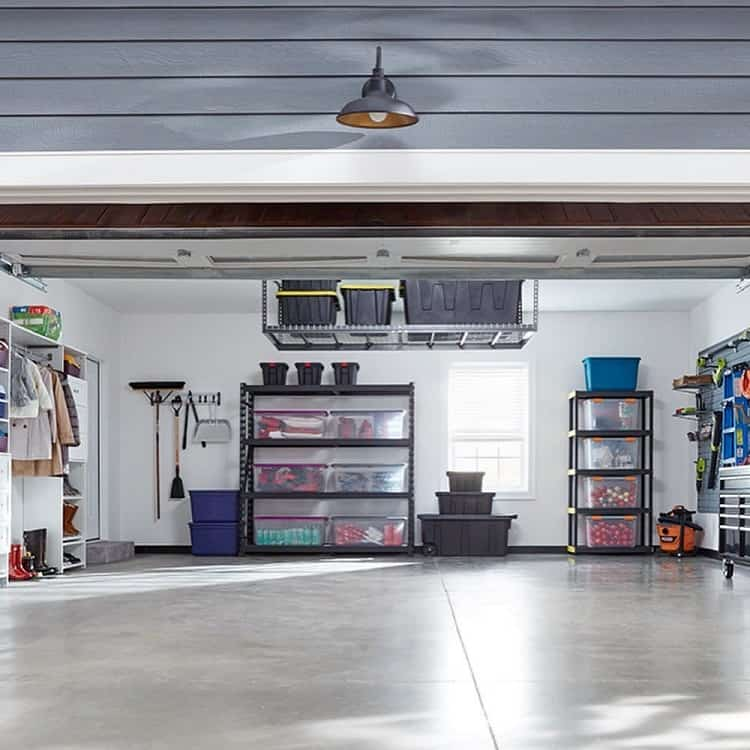 Large Space Garage Organization Whambamorganized