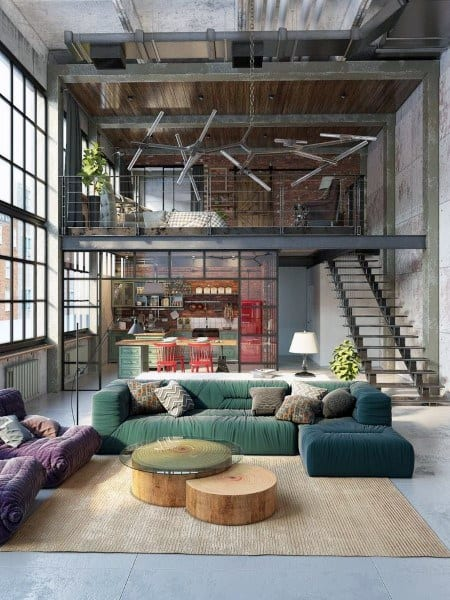 Large Vintage Loft Ideas