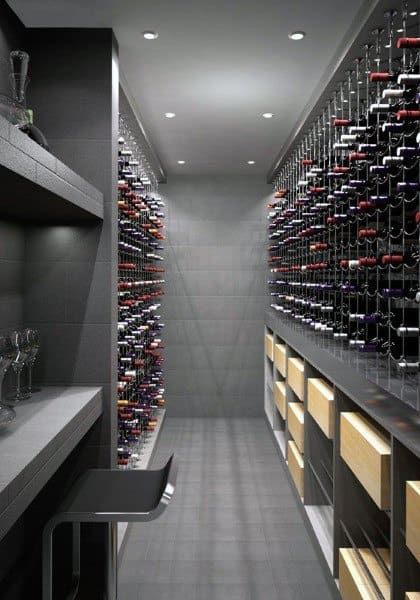 top 80 best wine cellar ideas vino room designs. Black Bedroom Furniture Sets. Home Design Ideas