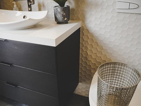 Las Vegas Nevada 2019 New American Remodel Guest Bathroom