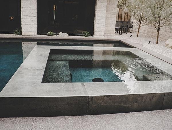 Las Vegas Nevada 2019 New American Remodel Hot Tub Pool Area