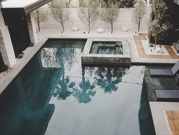 Las Vegas Nevada 2019 New American Remodel Pool View From Second Story Balcony