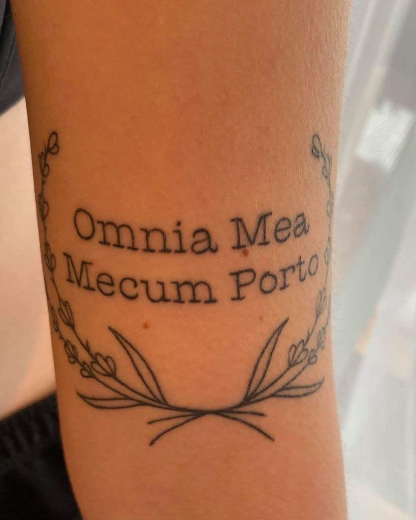 Latin Lavander Tattoo