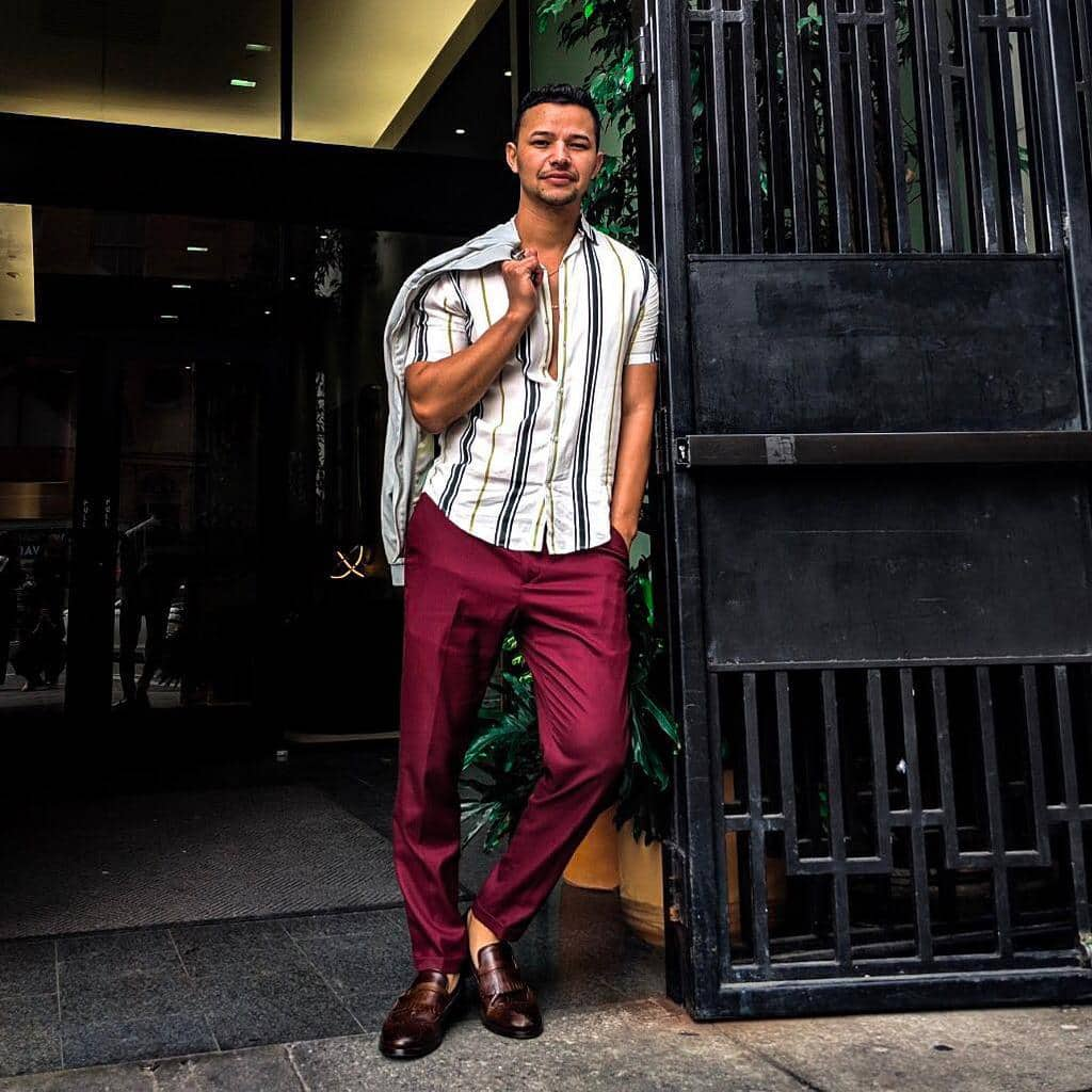 Latino Mens Wear Fashion Outfit