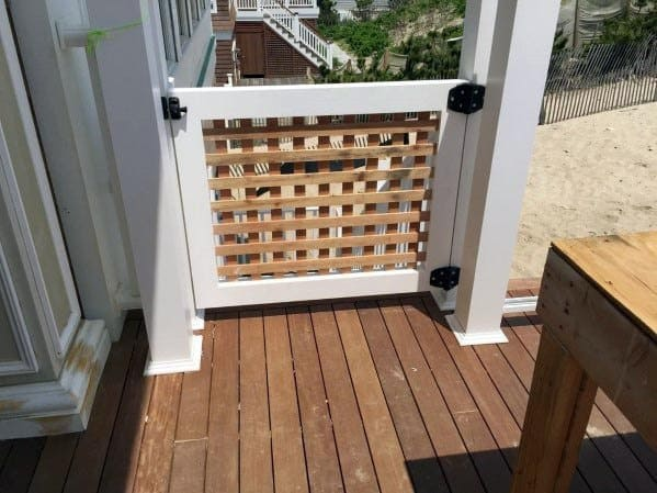 Lattice Deck Gate Ideas Inspiration