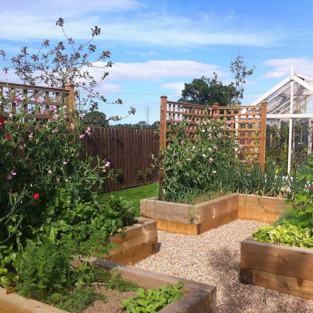 lattice garden trellis ideas butterlaw_farm_steading