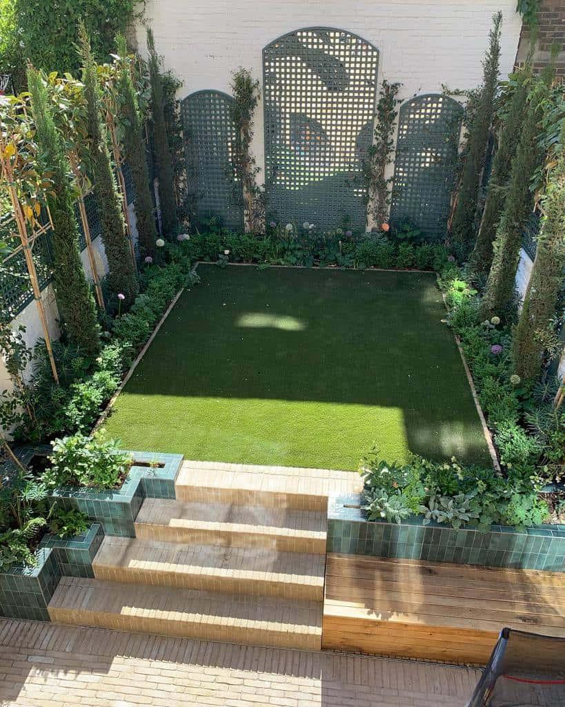 lattice garden trellis ideas joshuasear__barlowandbarlow
