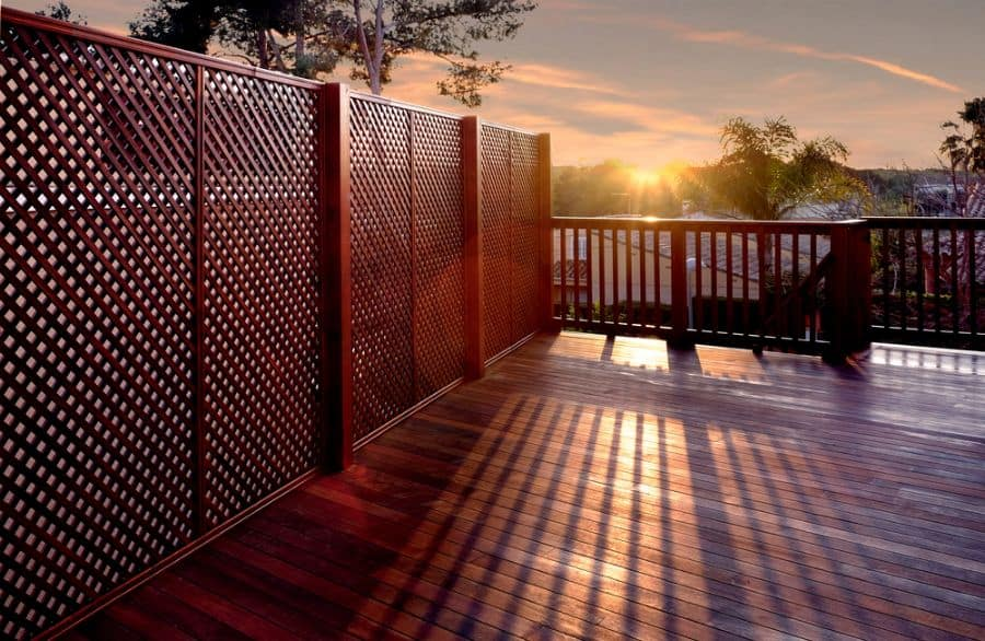 Lattice Wood Fence Ideas (2)