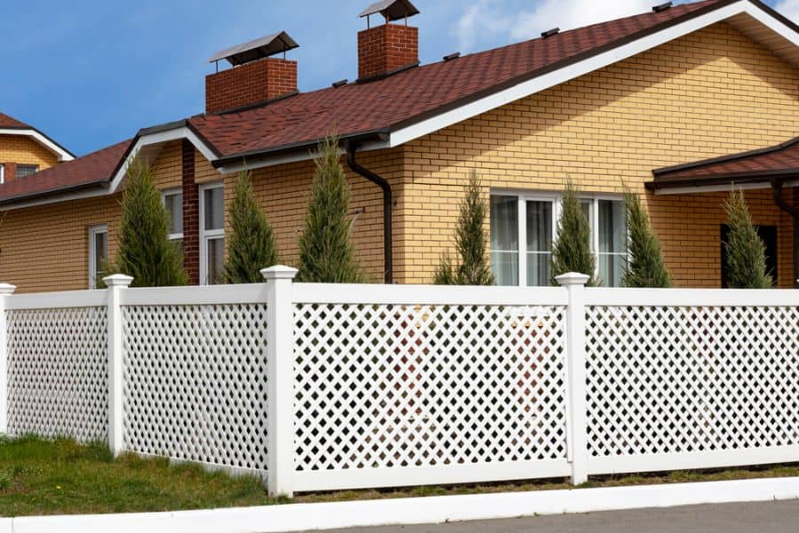 Lattice Wood Fence Ideas (3)