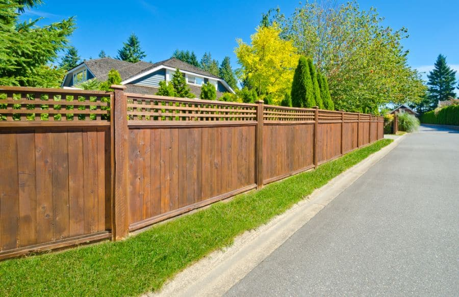 Lattice Wood Fence Ideas (4)