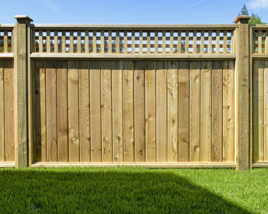 Lattice Wood Fence Ideas (6)