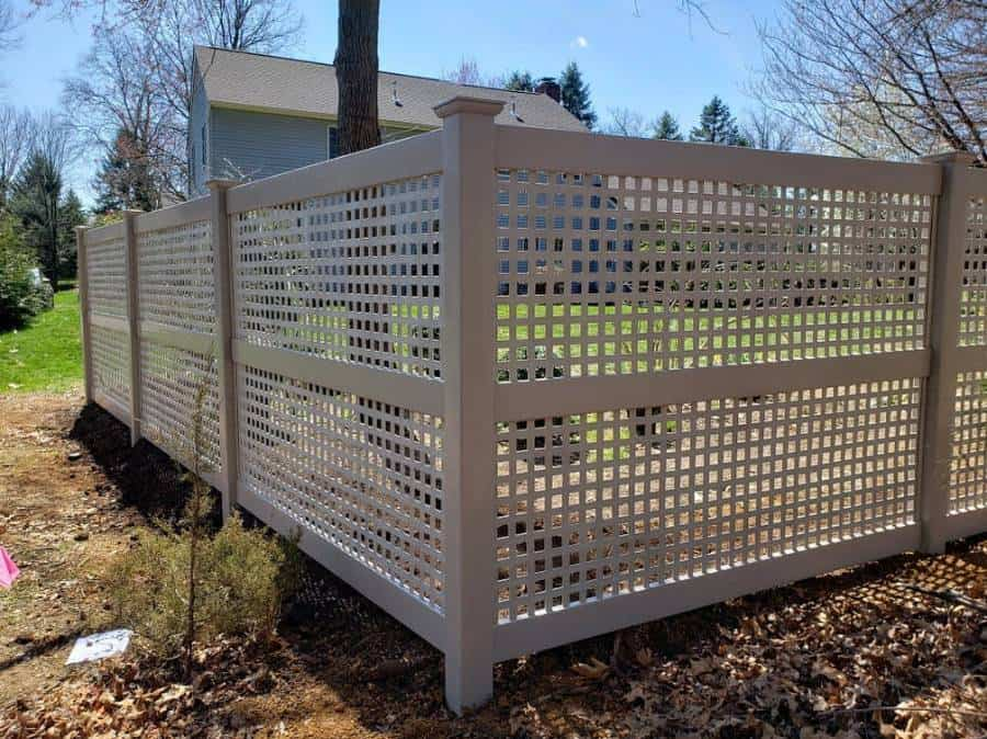 Lattice Wood Fence Ideas Ekrenfence