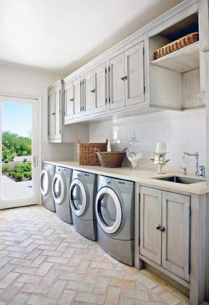 Top 50 Best Laundry Room Ideas - Modern And Modish Designs on Laundry Decor Ideas  id=97806
