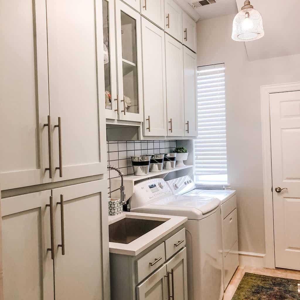 laundry room storage ideas deboeverinteriors