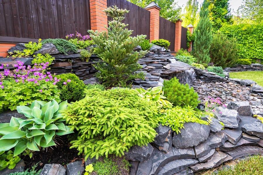 Rock Steps Landscaping Ideas For Backyard Walkway