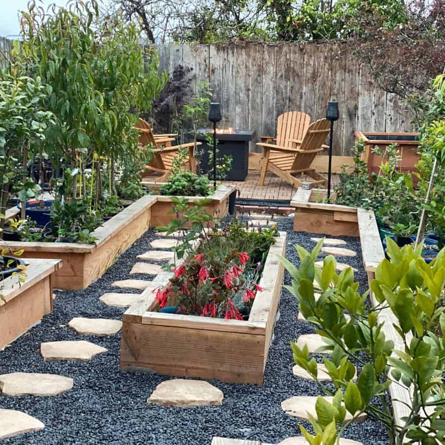 layout raised garden bed ideas foggy_gardener