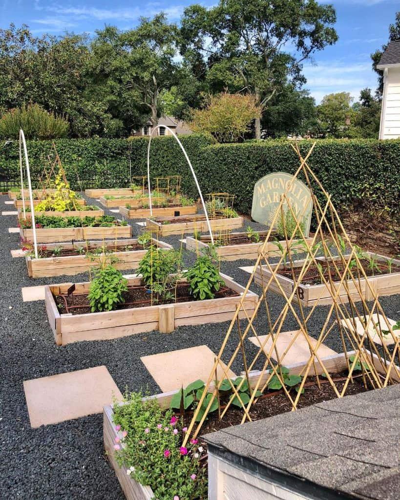 layout raised garden bed ideas jenmcdhome