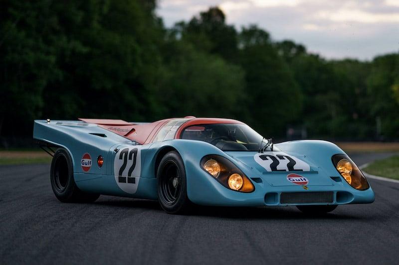 Steve McQueen's 1970 Porsche 917 K 'Le Mans' Co-Star Heading To Auction