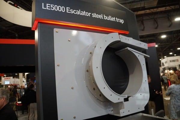 Le5000 Escalator Steel Bullet Trap For Ranges