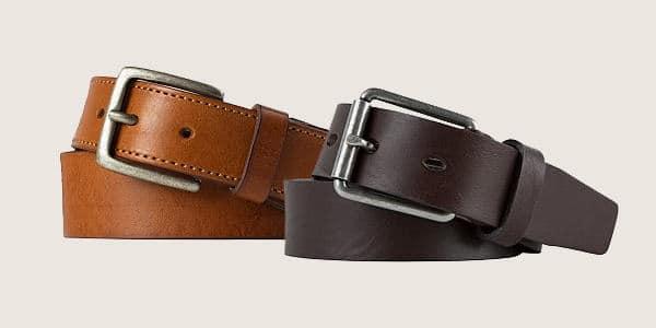 Leather Belt Fashion Tips For Men