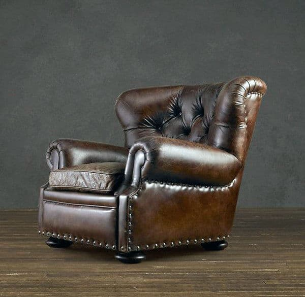 Ordinaire Leather Best Man Cave Chairs
