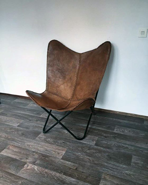 Leather Chair Simple Diy Man Cave Ideas