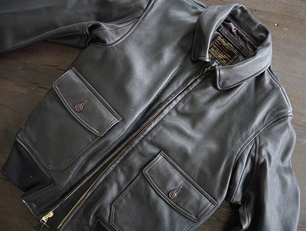 Leather Cockpit Usa G 1 Flight Jacket For Men With Collar Removed
