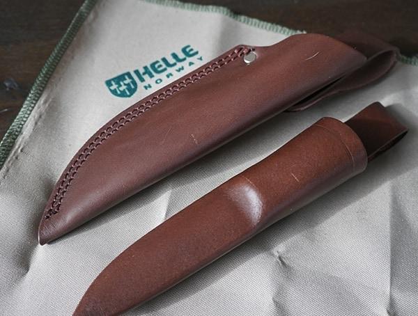 Leather Sheaths Helle Arv And Utvaer Top