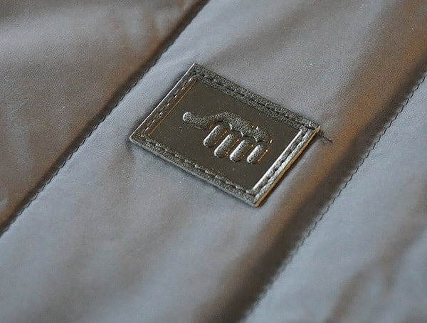 Leather Stiched Detail Trew Super Down Shirtweight Jacket